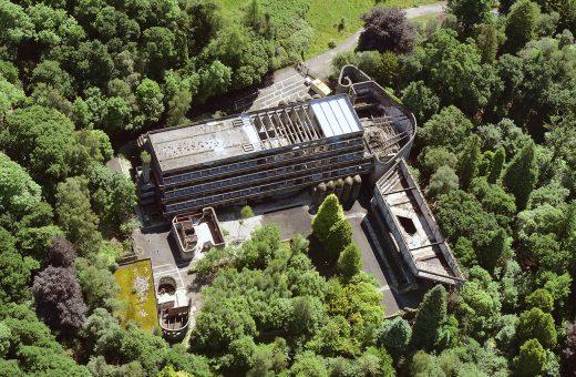 NVA St Peter's Seminary aerial