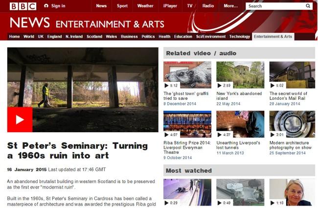 NVA's Kilmahew/St Peter's: BBC News