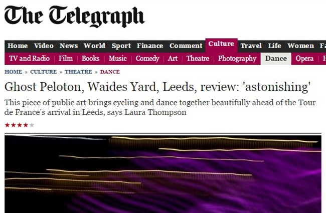 ghost peloton telegraph review may 2014