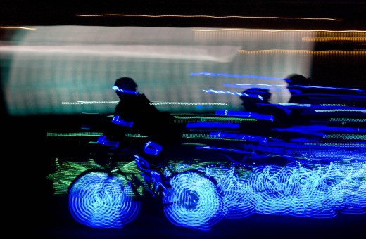 Ghost Peloton rides on 300614