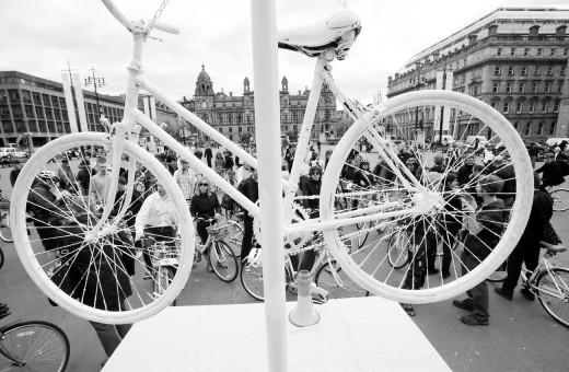Witte Fietsenplan / White Bike Plan Glasgow 2010: Neale Smith